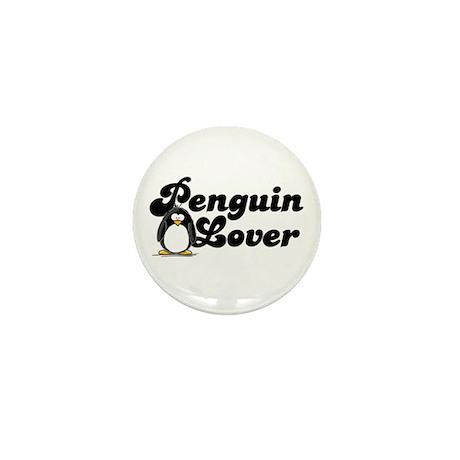 Penguin Lover Mini Button