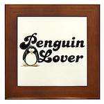 Penguin Lover Framed Tile