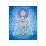 Seven Chakras Poster Large