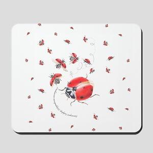 Ladybug, ladybug fly away Mousepad