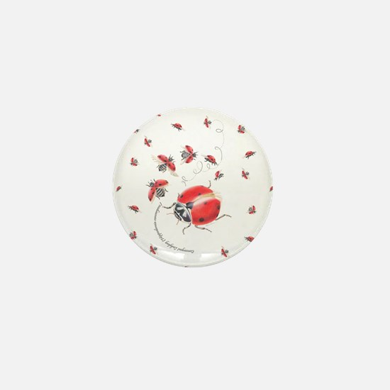 Ladybug, ladybug fly away Mini Button