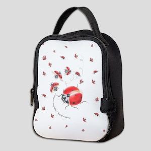 Ladybug, ladybug fly away Neoprene Lunch Bag