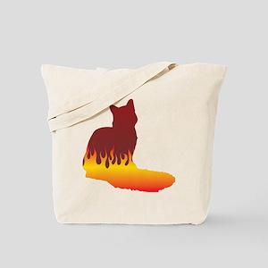 Nebelung Flames Tote Bag