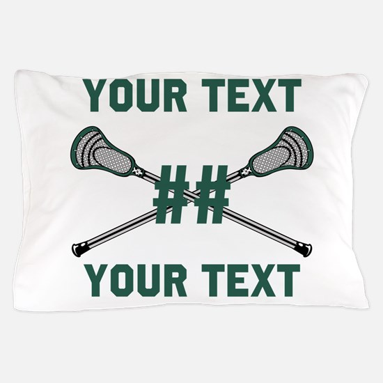 Personalized Green Pillow Case