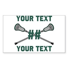 Personalized Green Decal