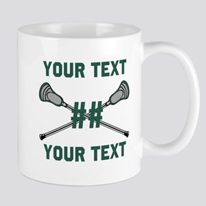 Personalized Green Mugs