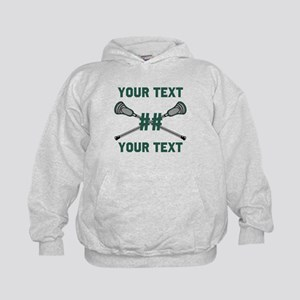Personalized Green Hoodie