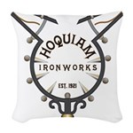 WitchCatcher_HQIronGS Woven Throw Pillow