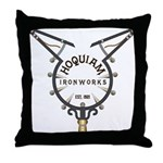 WitchCatcher_HQIronGS Throw Pillow