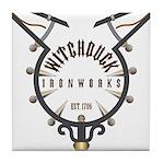 WitchCatcher_GSburkittsville Tile Coaster