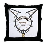 WitchCatcher_GSburkittsville Throw Pillow