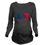 01MLQuarters_OnWhtOnly Long Sleeve Maternity T