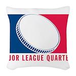 01MLQuarters_OnWhtOnly Woven Throw Pillow