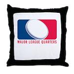 01MLQuarters_OnWhtOnly Throw Pillow