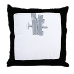 ScrewIT2small Throw Pillow