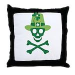 St_Patrick Throw Pillow
