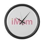 imom Large Wall Clock