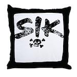 SIK_Blk2 Throw Pillow