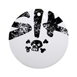 SIK_Blk2 Ornament (Round)