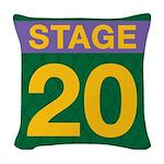 TRW Stage 20 Woven Throw Pillow