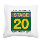 TRW Stage 20 Square Canvas Pillow