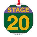 TRW Stage 20 Round Ornament