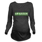 GoGreen Long Sleeve Maternity T-Shirt