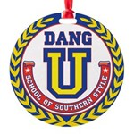 Dang U Round Ornament