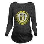 Puck U Long Sleeve Maternity T-Shirt
