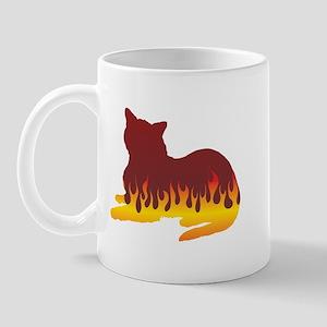 Burmese Flames Mug
