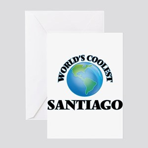 World's Coolest Santiago Greeting Cards