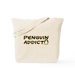 Penguin Addict Tote Bag