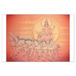 Vedic Planet Sun Poster Large