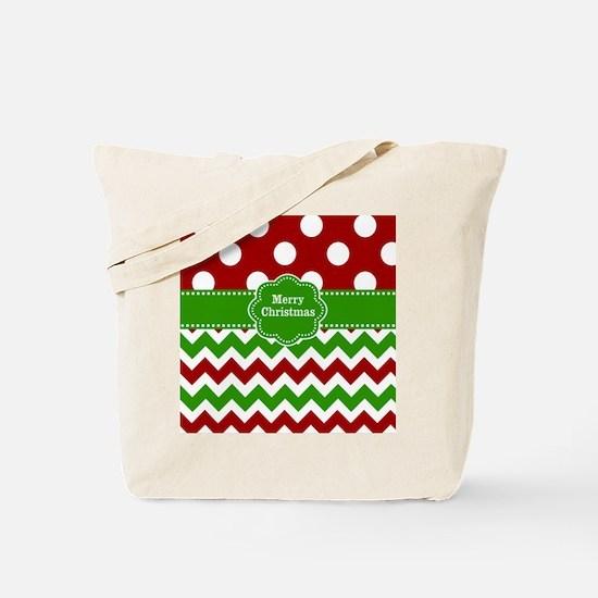 Red Green Christmas Tote Bag