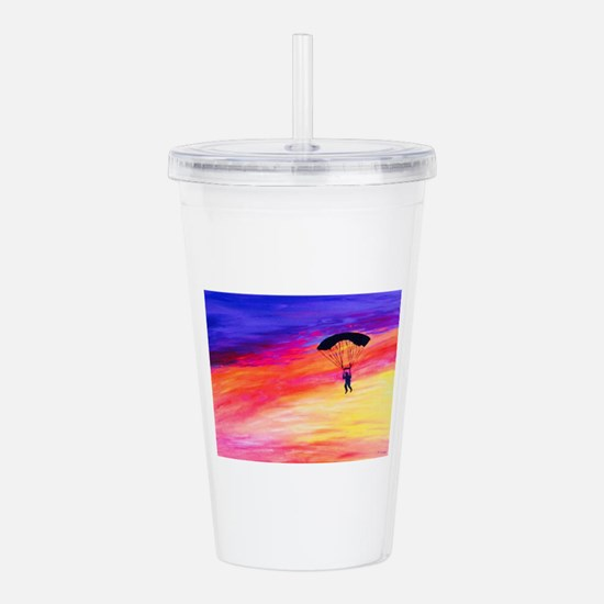 Into The Sunset Acrylic Double-wall Tumbler