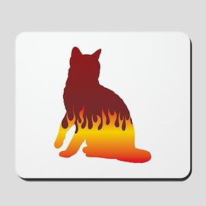 Bengal Flames Mousepad