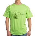 Master Gardener modern Green T-Shirt