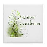 Master Gardener modern Tile Coaster