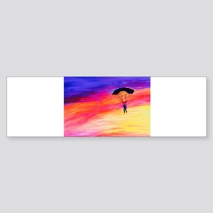 Into The Sunset Bumper Sticker