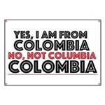 Yes, I am from Colombia Banner