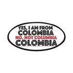 Yes, I Am From Colombia Patches