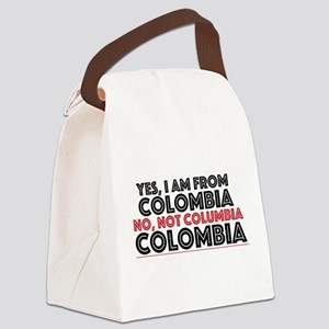 Yes, I am from Colombia Canvas Lunch Bag