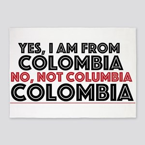 Yes, I am from Colombia 5'x7'Area Rug