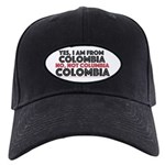 Yes, I Am From Colombia Baseball Hat Black Cap