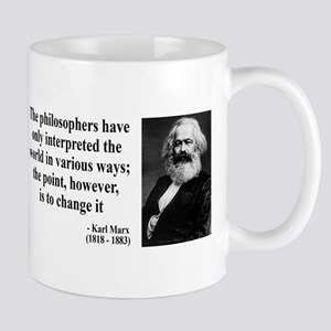 Karl Marx Quote 5 Mug