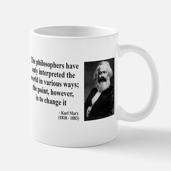 Karl Marx Quote 5 Mug