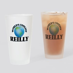 World's Coolest Reilly Drinking Glass