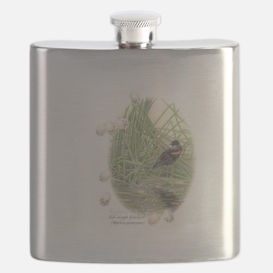 Red-winged blackbird Flask