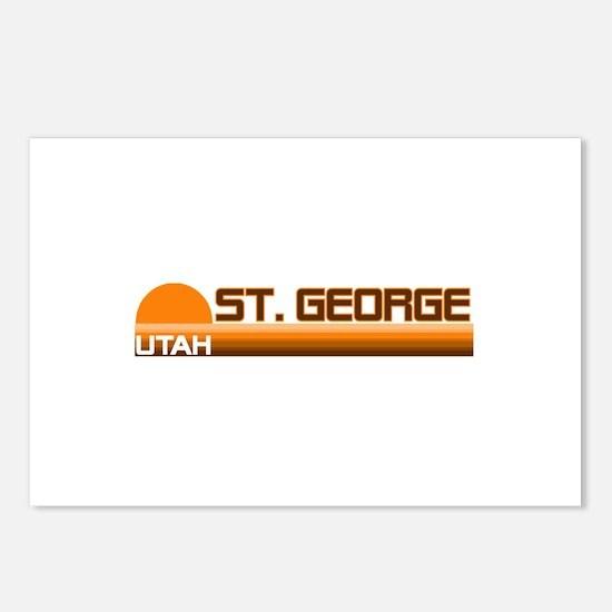 St. George, Utah Postcards (Package of 8)