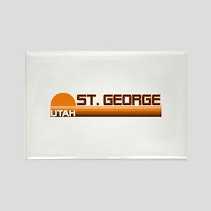 St. George, Utah Rectangle Magnet